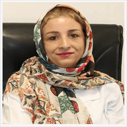 Dr shabnam rafeezade in sama medical tourism