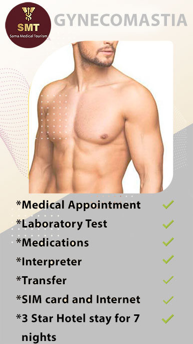 gynecomastia PACKAGES IN IRAN